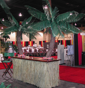 Custom Made Palm Trees Palm Tree Bar