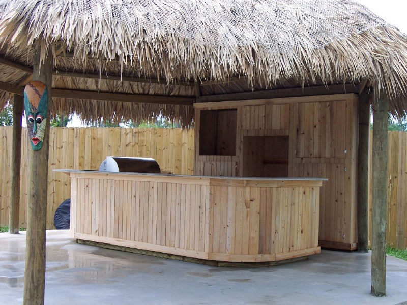 Custom Made Palm Trees Economical Tiki Huts Amp Bars