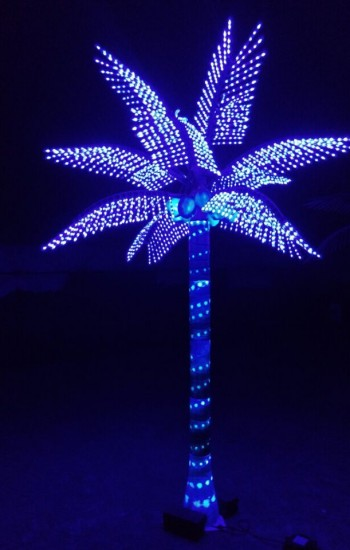 Custom Made Palm Trees The Lighted Palm Tree And The