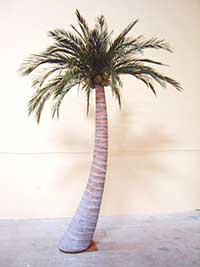 image of a artificial palm trees