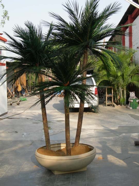 image of fabricated Palm tree