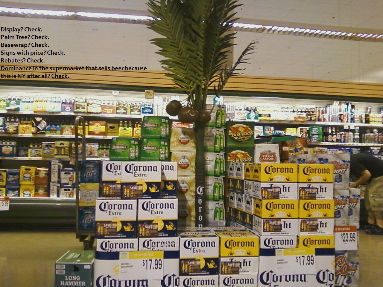 Custom Made Palm Trees Tropical Store Displays